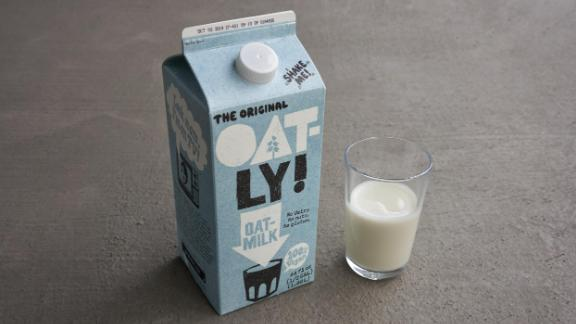 Sales of oat milk have been skyrocketing.