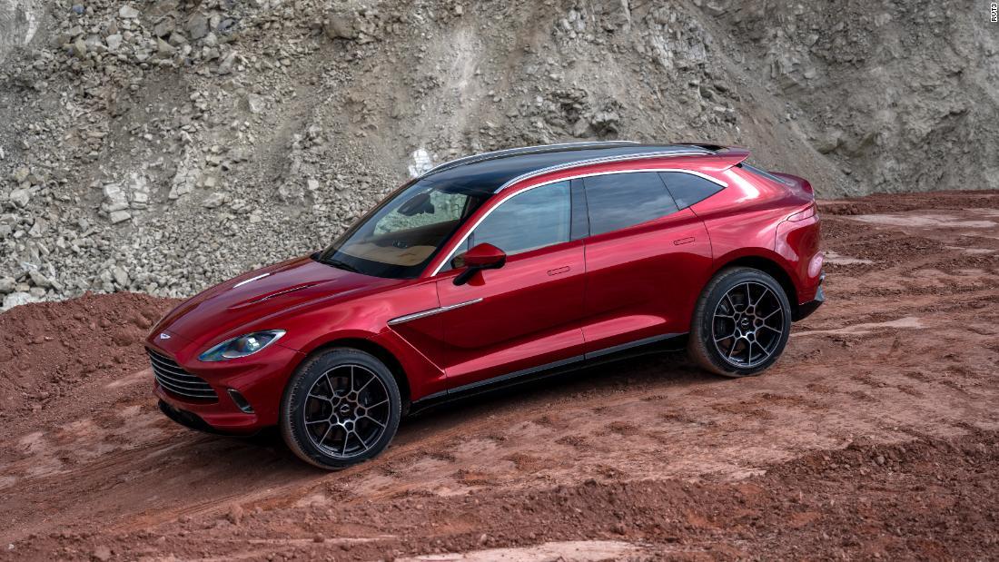 Aston Martin unveils a $190,000 SUV