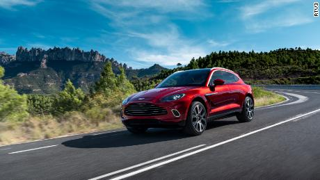 The Aston Martin DBX is the British sports car brand's first SUV.