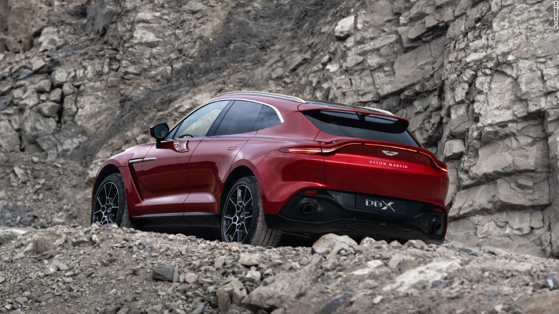 New Aston Martin >> Aston Martin Unveils Its First Suv Cnn