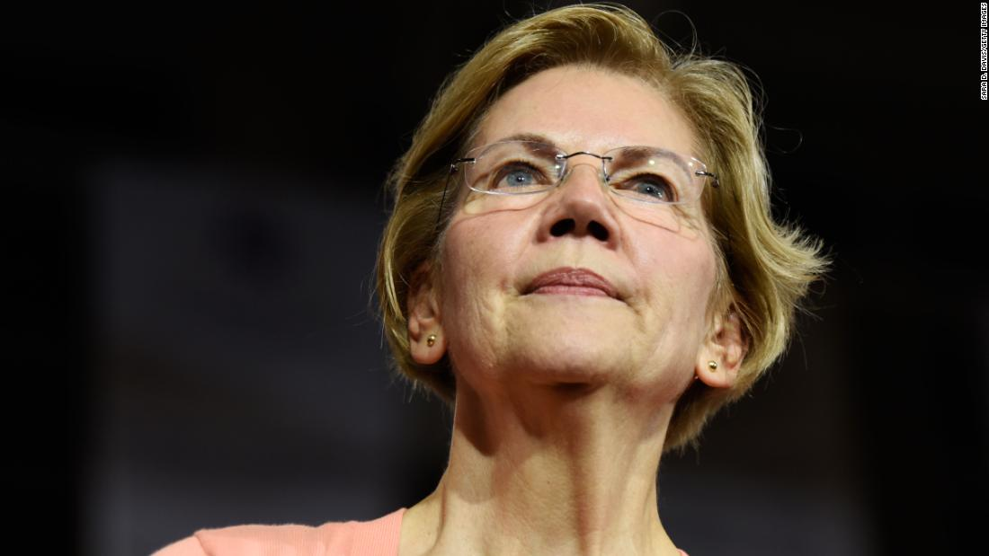 What is happening with Elizabeth Warren?