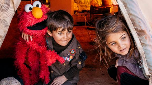 """""""Sesame Street"""" and the International Rescue Committee have collaborated in efforts to help Syrian refugee children. A new program called """"Ahlan Simsim"""" is set to air in February 2020."""