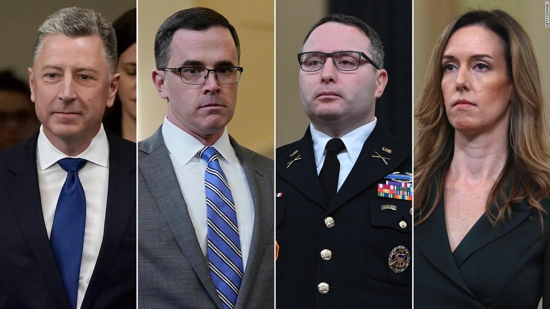 Anklage Zeugen sehen einer ungewissen Zukunft, nachdem Trump Freispruch und Vindman feuern