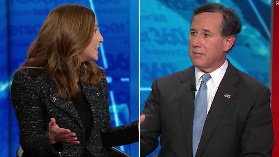 CNN panelist to Rick Santorum: That argument is insane