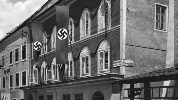 The property pictured during the Nazi era, circa 1939.