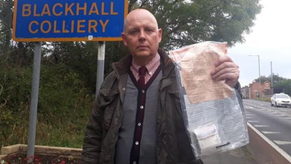 Detectives say 12 bundles of banknotes have been found in the village since 2014.