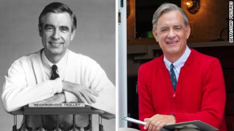 Tom Hanks Finds Out He Is Related To Mister Rogers Cnn Video