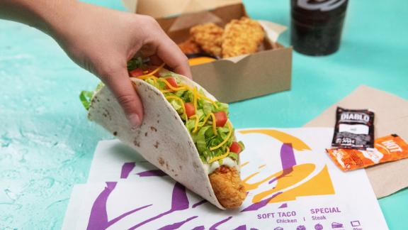 Is a taco a sandwich? Because Taco Bell seems to have entered the chicken sandwich competition with its own fried chicken vehicle.