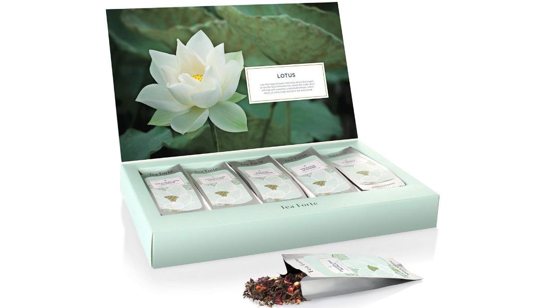 Pack de té de hojas sueltas orgánicas Tea Forte