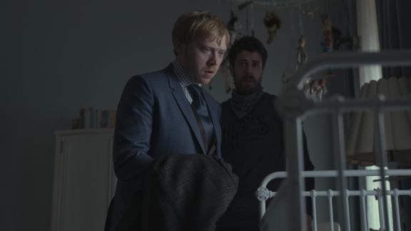 Rupert Grint, Toby Kebbell in 'Servant'