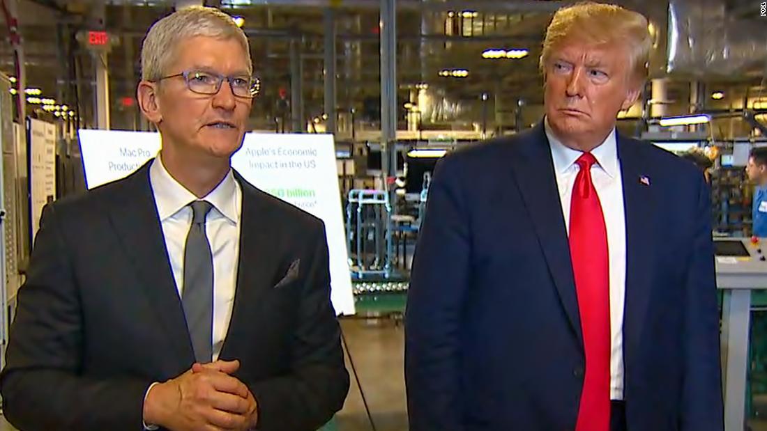Γεγονός, ελέγξτε: Trump κάνει ψευδή ισχυρισμό για το εργοστάσιο της Apple