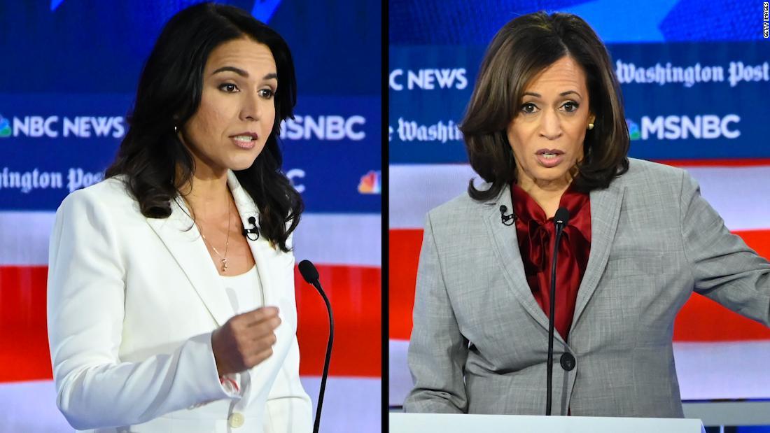 Kamala Harris σχίζει Tulsi Gabbard κατά τη διάρκεια της συζήτησης: πέρασε τέσσερα χρόνια στο Fox News