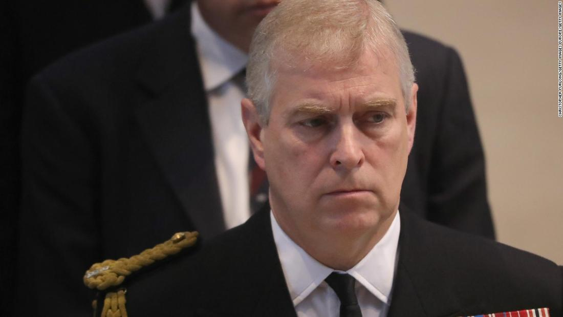Why Britain's Queen Elizabeth had to let Prince Andrew go