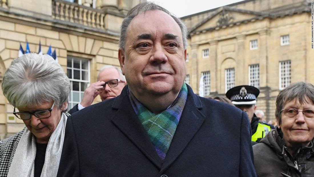 Scottish ex-premier pleads not guilty to sexual assault charges
