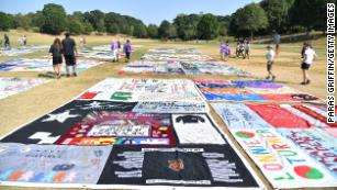 The AIDS Memorial Quilt will head home to San Francisco, 32 years later