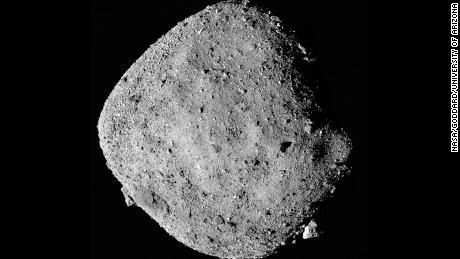 2 different asteroids visited by spacecraft may have once been part of a larger asteroid