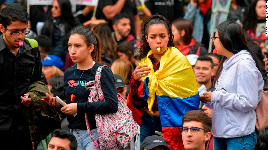 Unrest in another South American nation