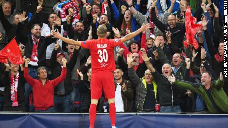 Marsch has overseen the development of Norwegian Erling Braut Håland. The 19-year-old Red Bull Salzburg striker has take the Champions League by storm, scored seven goals in four games.