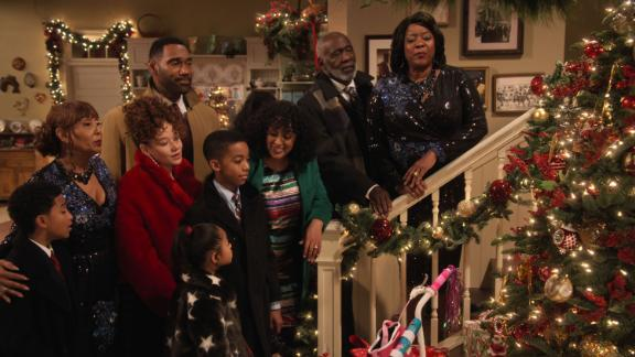 """<strong>""""A Family Reunion Christmas""""</strong>: M'Dear and her sisters struggle to keep their singing act together before a church Christmas pageant, while Grandpa teaches the kids a valuable lesson. <strong>(Netflix) </strong>"""
