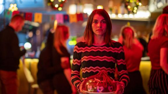 """<strong>""""Home for Christmas""""</strong>: Fed up with the constant comments on her relationship status, perpetually single Johanne starts a 24-day hunt for a partner to bring home for Christmas. <strong>(Netflix) </strong><br />"""