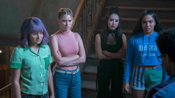 """<strong>""""Marvel's Runaways"""" Season 3</strong>: The Runaways frantically search for their captured friends Chase, Gert and Karolina.  The kids go head to head with an unstoppable enemy who has targeted Leslie -- or more accurately, the child she's carrying. (Hulu)"""