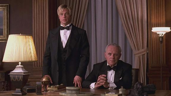 """<strong>""""Meet Joe Black""""</strong> : A mysterious man tries to navigate life with the help of a media mogul whose daughter he falls for. <strong>(Hulu) </strong>"""