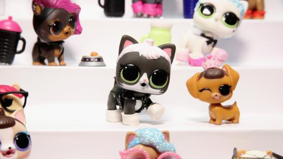 L.O.L. Surprise! toys can include trinkets such as these little plastic pets.