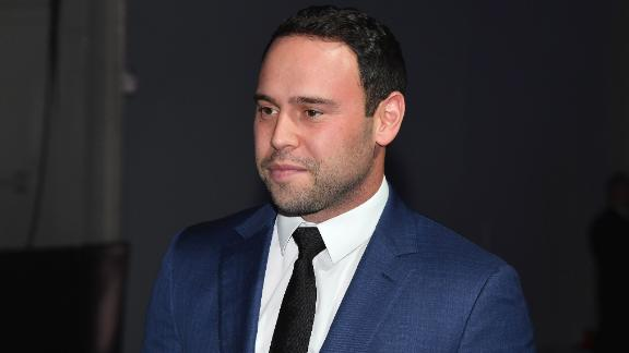 US entrepreneur Scooter Braun attends the 2018 Pencils of Promise Gala at Duggal Greenhouse, Brooklyn Navy Yard on October 24, 2018 in New York City. (Photo by Angela Weiss / AFP)        (Photo credit should read ANGELA WEISS/AFP via Getty Images)