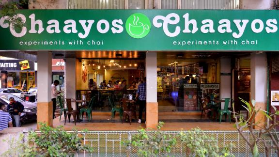 A branch of Chaayos Chai Cafe in New Delhi
