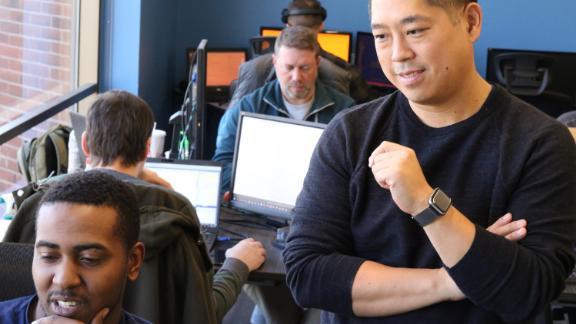 Catalyte CEO Jacob Hsu hopes the company