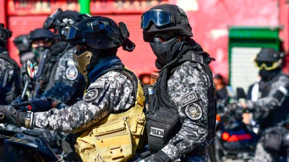 The government passed a law granting Bolivian security forces broad discretion in the use of force.