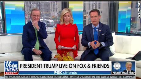 Trump frequently calls into 'Fox & Friends'