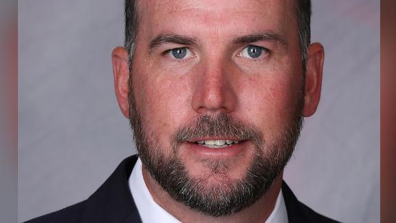 Brendan Faherty was hired as head coach for Yale University's women's soccer team in 2018.
