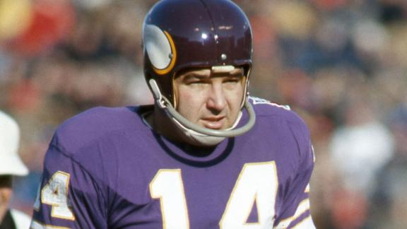 Fred Cox, former player for the Minnesota Vikings.