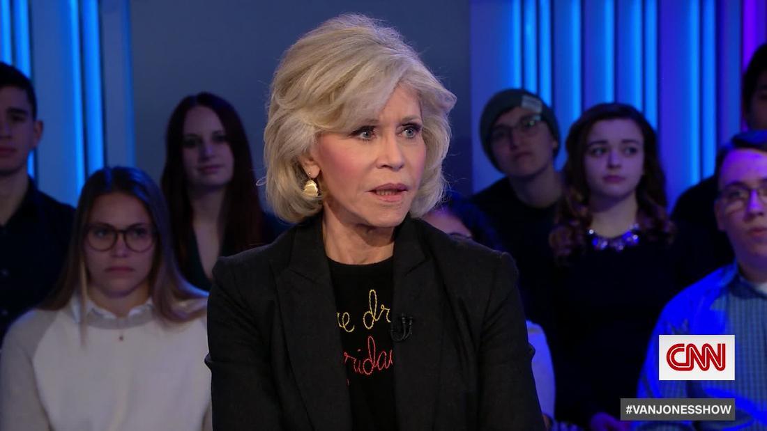 Jane Fonda Donald Trump: 'I don' T hasse ihn. Ich bin traurig für ihn