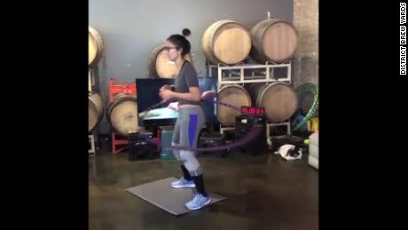Hips don't lie: There is a new marathon hula-hooping record holder