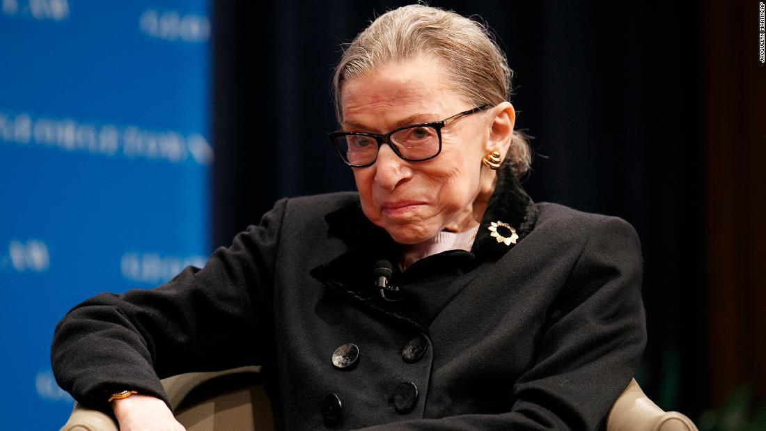 Ruth Bader Ginsburg κυκλοφόρησε από το νοσοκομείο