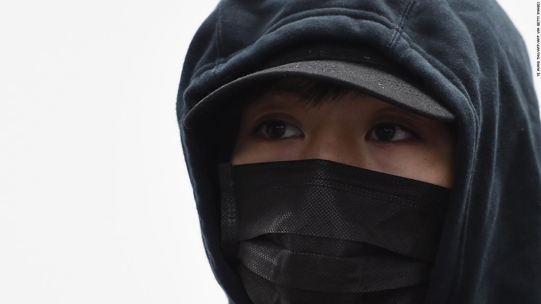 香港の抗ショット警察していない