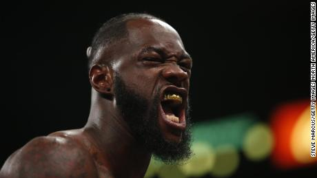 Wilder is set to fight Tyson Fury in February.