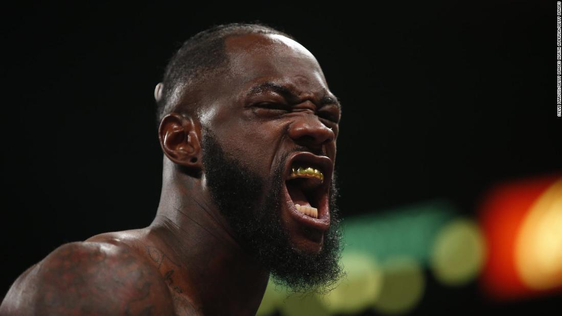 Deontay Wilder Etagen Luis Ortiz zu behalten heavweight Titel