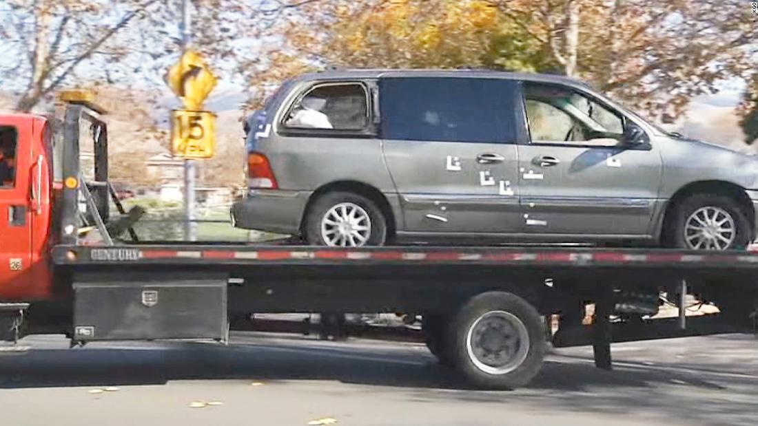 Police seek suspect after 2 boys found shot dead in van