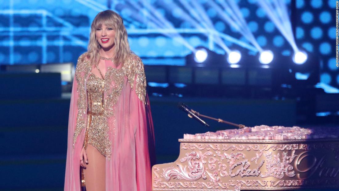 Taylor Swift historischen Nacht