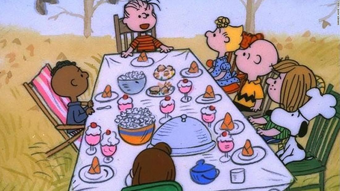 Hier ist, wie Sie sehen können 'A Charlie Brown Thanksgiving, in diesem Jahr