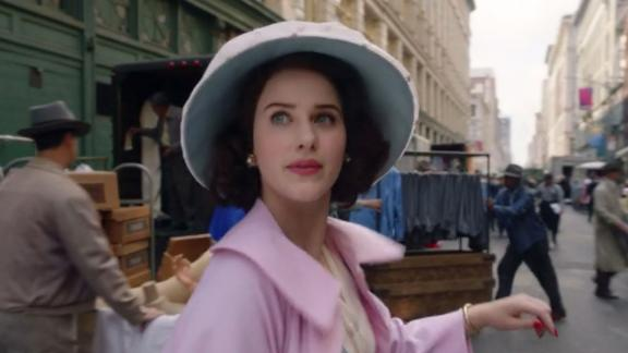 """<strong>""""The Marvelous Mrs. Maisel"""" Season 3</strong>: Midge (Rachel Brosnahan) and Susie (Alex Borstein) discover that life on tour is glamorous but humbling, and they learn a lesson about show business they'll never forget in the new seasom. <strong>(Amazon Prime) </strong>"""