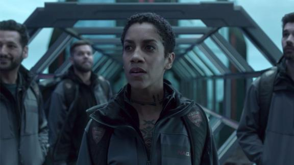"""<strong>""""The Expanse"""" Season 4</strong>: A new chapter for the series with the crew of the Rocinante on a mission from the U.N. to explore worlds beyond the Ring Gate. Humanity has been given access to thousands of Earth-like planets which has created a land rush and furthered tensions between the opposing nations of Earth, Mars and the Belt. <strong>(Amazon Prime) </strong>"""