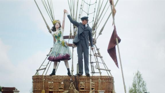 """<strong>""""The Aeronauts""""</strong>:  In 1862, daredevil balloon pilot Amelia Wren (Felicity Jones) teams up with pioneering meteorologist James Glaisher (Eddie Redmayne) to advance human knowledge of the weather and fly higher than anyone in history. While breaking records and furthering scientific discovery, their voyage to the very edge of existence helps the unlikely pair find their place in the world they have left far below them. <strong>(Amazon Prime) </strong>"""