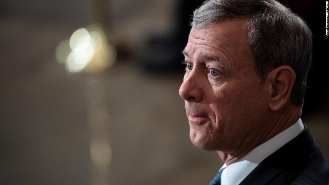 John Roberts scolds legal teams after tense exchange: 'Those addressing the Senate should remember where they are' - CNN