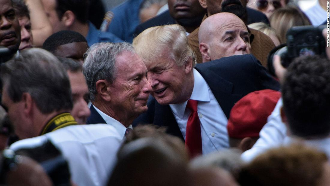 Trump mengatakan dia akan 'cinta untuk menjalankan terhadap Bloomberg'