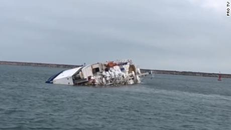 Thousands Of Sheep Feared Drowned After A Cargo Ship Capsized In The Black Sea Cnn