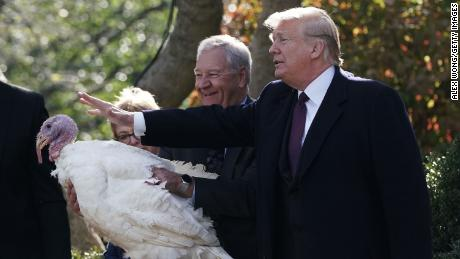 Despite the state of things, there will be a turkey pardon
